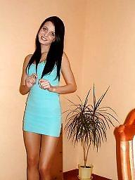High heels, Nylons, Leggings, Dressed, Teen nylon, Nylon teen