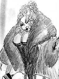 Femdom cartoon, Fetish, Fur, Femdom cartoons, Cartoon femdom