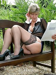 Stocking, Mature stockings, Uk mature