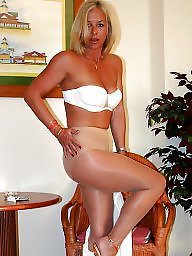 Lady, Mature stockings, Older, Lady b, Ladies, Older lady