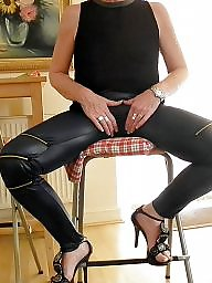 French, Legs, Leggings, French mature, Black mature, Mature legs