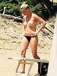 Beach, Voyeur tits, Amateur tits