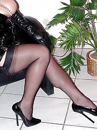 High heels, Stockings, Extreme, Stockings heels, High