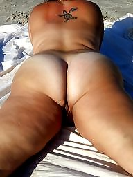 Clit, Big ass, Big clit, Bbw beach, Milf ass, Amateur bbw