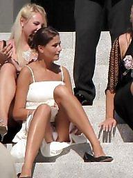 Upskirts, Leg, Upskirt stockings