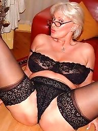 Granny, Granny stockings, Granny stocking, Mature granny, Grab