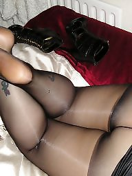 Tight, Girlfriend, Amateur pantyhose, Tights, Pantyhose ass, Black stocking