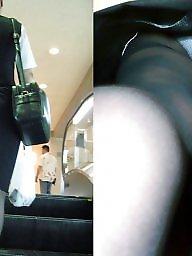 Pantyhose, Upskirt, Japanese pantyhose, Pantyhose upskirt, Upskirt pantyhose, Women
