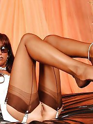 Girdle, Upskirt, Upskirts, Long legs, Legs stockings, Girdle stockings
