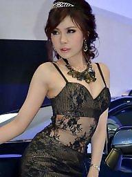 Pantyhose, Asian pantyhose, Thailand, High heels, Asian stockings, Asian babe