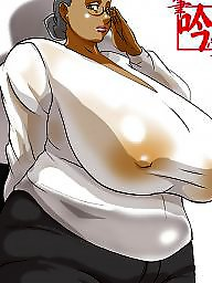 Big boobs, Bbw cartoon, Compilations, Compilation