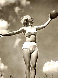 Lady, Balls, Vintage amateur, Ball