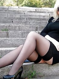 Heels, Milf stocking, Hot milf