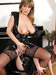Piercing, Pierced, Milf stockings, Beautiful mature, Milf stocking, Stocking milf