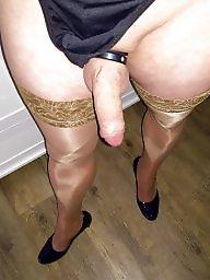Stockings, Pump, Bisexual, Pumps