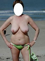 Mature wife, Wifes tits, Mature tits, Amateur wife