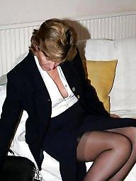Stocking, Mature stockings, Uk mature