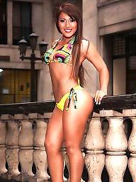 Bikini, Latina big ass, Latina ass, Ass latina