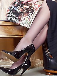 Amateur mature, Mature stockings