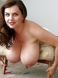 Brunette mature, Big boobs mature