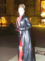 Boots, Latex, Leather, Pvc, Mature leather