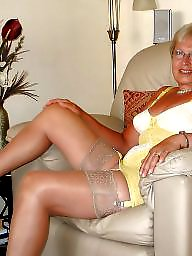 Grandma, Mature porn, Body, Mature stockings