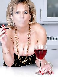 Cigarette, Milf stockings