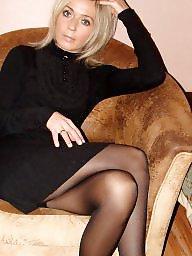 Upskirt stockings