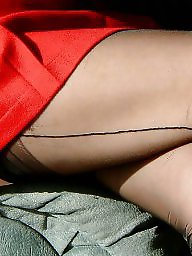 Vintage, Nylon, Nylons, Mature nylon, Mature stockings, Mature ladies