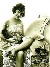 Vintage, Ladies, Lady, Vintage amateur