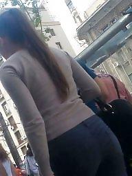 Jeans, Spy, Romanian, Voyeur, Sexy ass, Spy cam