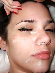 Amateur facials, Facials, Exposed, Milf facial