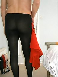 Skirt, Tight, Red, Tights