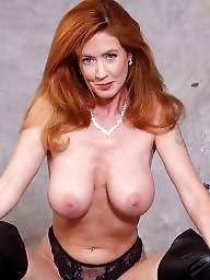 Big boobs, Sexy, Redhead mature, Mature redhead, Mature boobs, Big mature