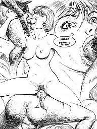 Cartoons, Group, Sex, Funny cartoon, Cartoon sex, Group cartoon
