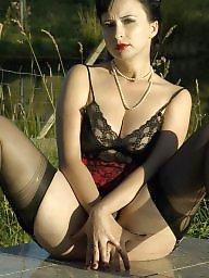 Sexy, Upskirt stockings, Sexy lady, Upskirts
