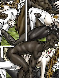 Cartoon, Cartoons, Gangbang, Wedding, Milf cartoon, Interracial cartoon