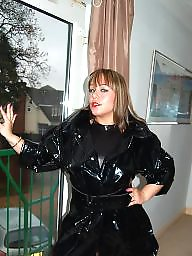 Latex, Leather, Mom, Pvc, Mature ladies, Mom teen