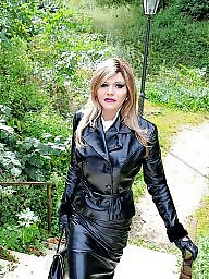 Boots, Latex, Pvc, Leather, Mature porn, Mature pvc