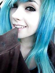Emo, Blonde, Teen cute