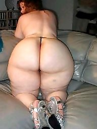 Mature bbw ass, Housewife, White, Sexy bbw, Mature asses