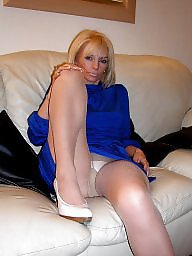 Mature lady, Mature in stockings
