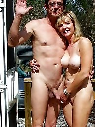 Mature couples, Erection, Couple