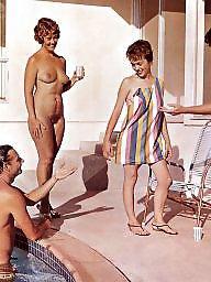 Vintage, Magazine, Naked, Vintage hairy, Hairy vintage