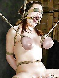 Hanging tits, Hanging, Tits bdsm, Tit hanging