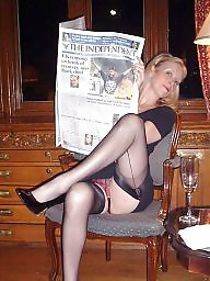 Vintage, Vintage mature, Mature lady, Stocking mature