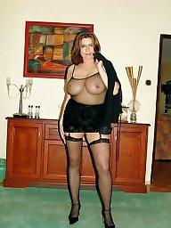Lingerie, Mature lingerie, Mature stocking