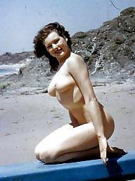 Beach, Lady, Vintage amateurs