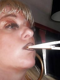 Smoking, Blowjob, Blowjobs, Blonde milf, Smoke, Milf blowjob