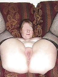 Spreading, Spread, Fishnet, Bbw spreading, Bbw spread